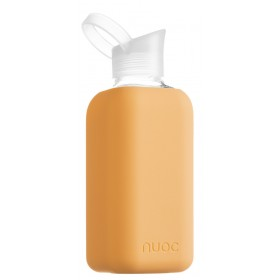 Nuoc Essential drinkfles Kandy (glas + siliconen hoes)
