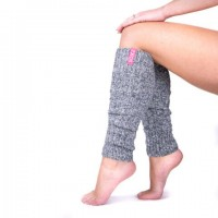 SOXS wollen yoga beenwarmers Bubble Gum
