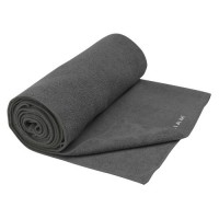 Gaiam Grippy Athletic yoga handdoek - Grijs - extra groot