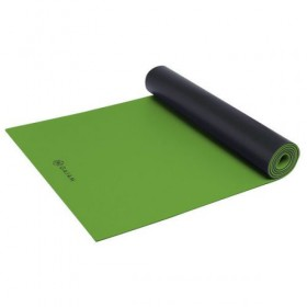 Gaiam Studio Athletic yogamat - groen - 5mm