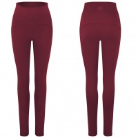 Gossypium - Curve Ultra High Waist Yoga Legging - Burlesque Red - L