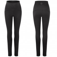 Gossypium - Curve Ultra High Waist Yoga Legging - Zwart - XL