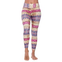 Liquido - Print Yoga Legging - Magic Sequin - M
