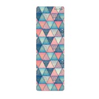 Love Generation yoga mat - print triangles - 3.5mm
