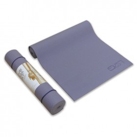 Love Generation - Love yoga mat - Lavendel Grijs - 6mm