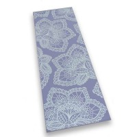 Love Generation yoga mat - Paars Lotus - 6mm