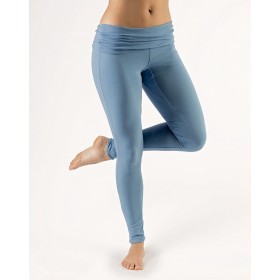 Yoga legging - Lake blue - Large